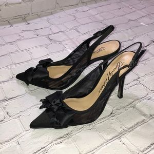 Beverly Feldman Black Womens Heels